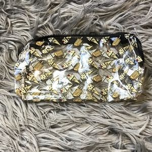 Ipsy Clear Ice Cream Makeup Bag - Bundle and Save!